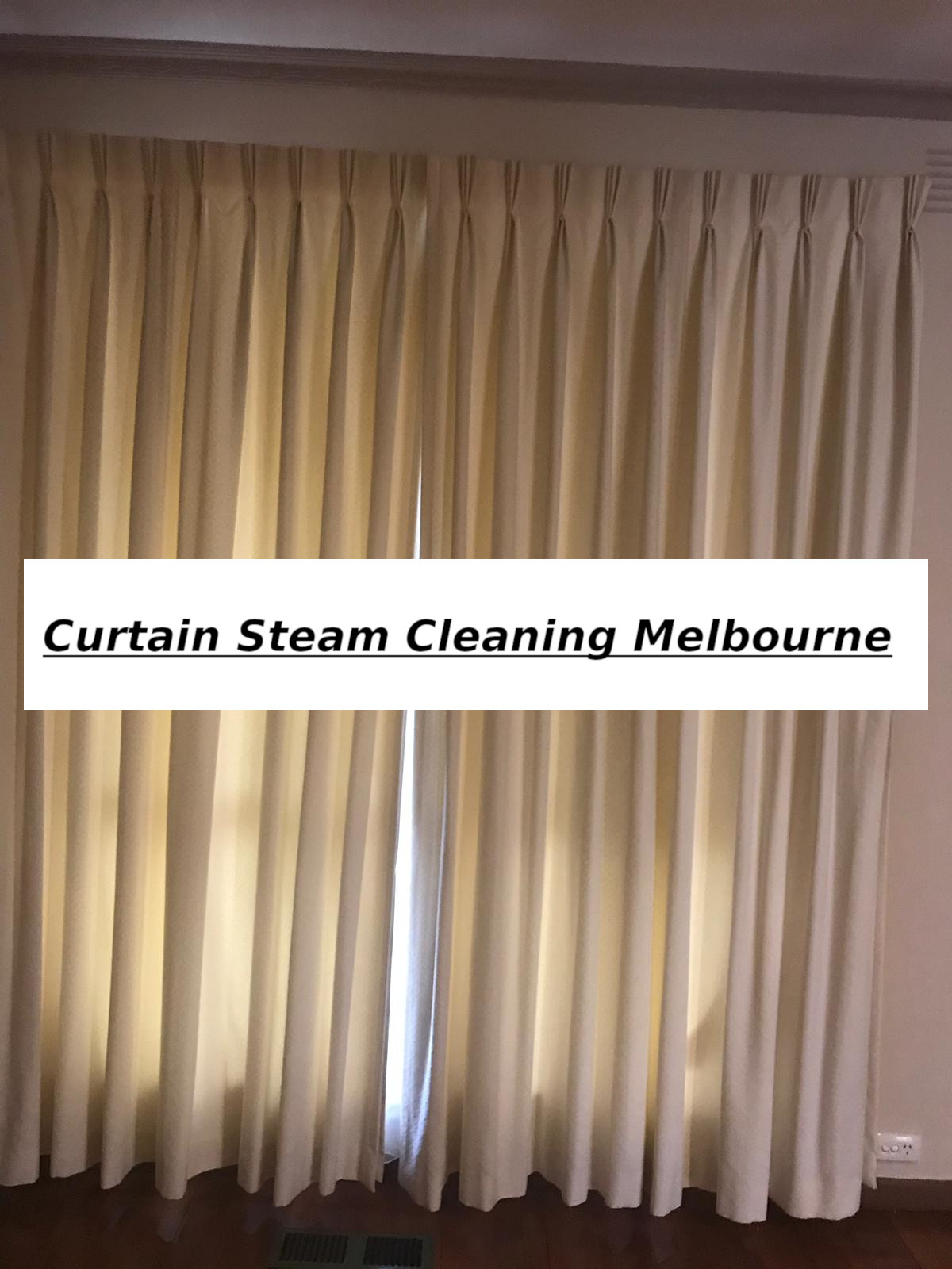 curtain steam cleaning service melbourne