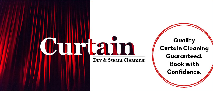 Curtain Dry and Steam Cleaning Melbourne