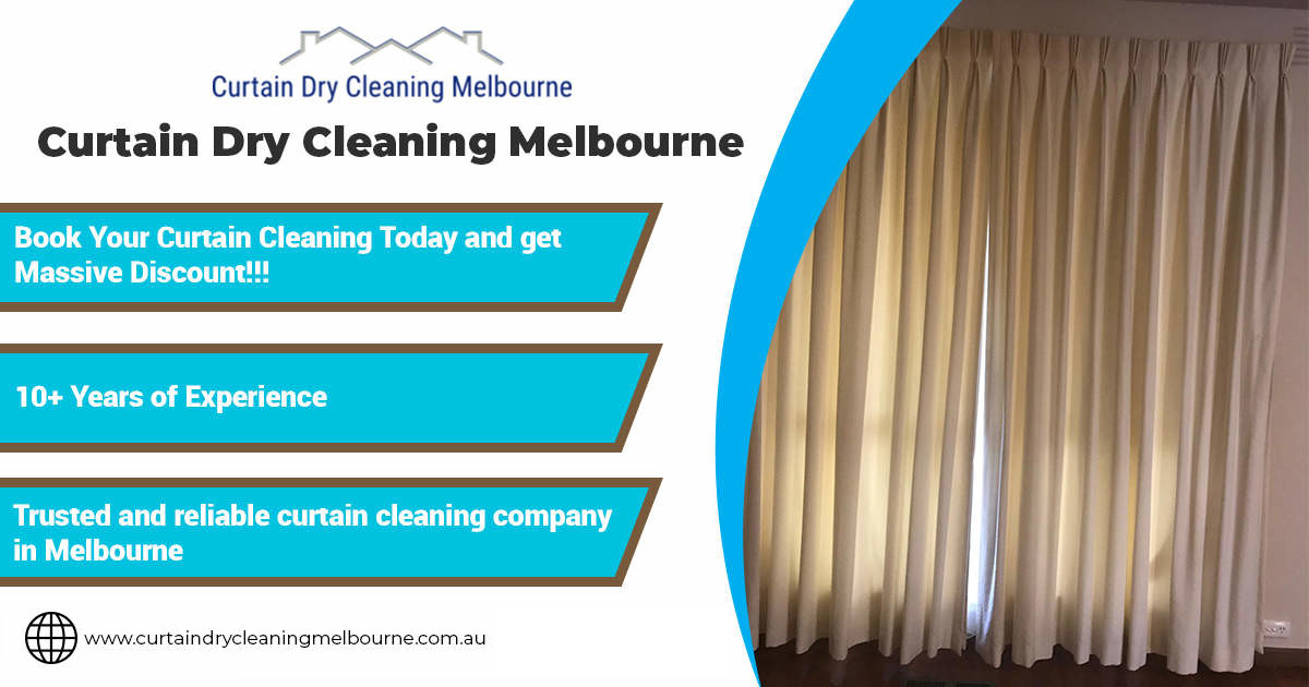 Drapes Cleaning Melbourne