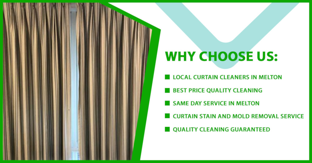 Why choose curtain cleaning Melton
